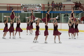 Lifts performed by the Haydenettes, 26-time U.S. national synchro champions