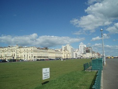 Hove Lawns is a large sea front garden situated to the west of the main Hove Esplanade