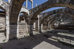 Arches of the ancient city of Smyrna, modern day Izmir.