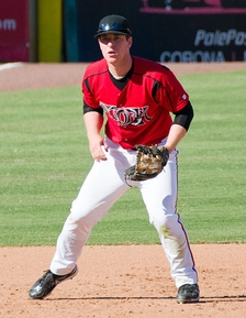 Gyorko with the Lake Elsinore Storm in 2011