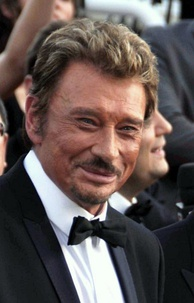 The rock singer Johnny Hallyday sold more than 110 million records worldwide since 1960.