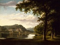 Landscape with View on the River Wye by Thomas Jones