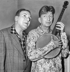 Bendix as Riley with Sterling Holloway, 1957