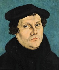 Martin Luther, originally an Augustinian monk, posted the Ninety-Five Theses in 1517.
