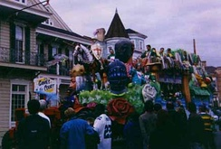 Float on Magazine Street, 1996