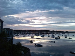 Marblehead Harbor Morning