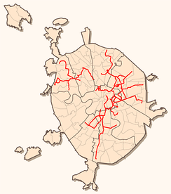 Moscow Tram Network