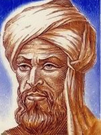 The word algebra comes from the title of a book by Muhammad ibn Musa al-Khwarizmi.[6]