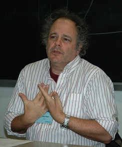 Michael Albert, contemporary anarchist economist proponent of the parecon system