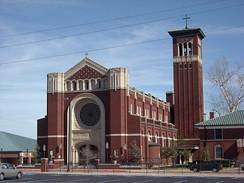 The Cathedral of Our Lady of Perpetual Help in Oklahoma City.