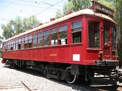 Pacific Electric #1299 Business Car.