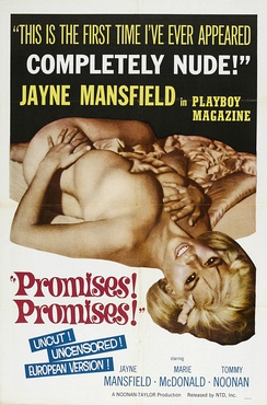 Jayne Mansfield on the poster for Promises! Promises!