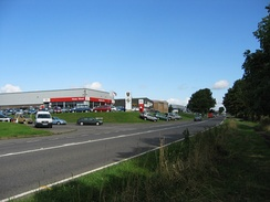 The 46 acres (19 ha) of Spittlegate Level (B1174 – the former A1) south of the town, home of many local companies and the former Corus Service Centre, which was developed in 1973