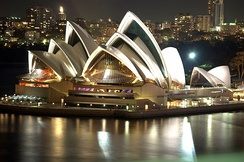 The Sydney Opera House was officially opened in 1973.