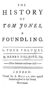 Tom Jones was an important influence on Dickens