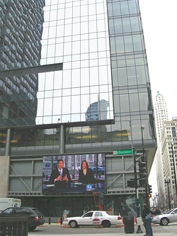 The CBS Broadcast Center in New York City, home of WCBS and WLNY