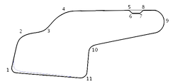 The short course at Watkins Glen.