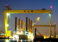 Harland & Wolff is a leading offshore fabrication and ship repair yard, centred on the sixth largest dry dock in the world.