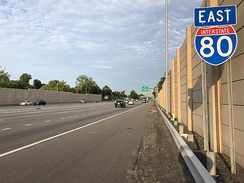 I-80 eastbound in Parsippany-Troy Hills