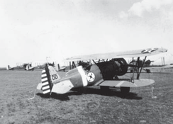 Boeing P-12E, trainer aircraft, 25th Bombardment Squadron, France Field, 1923