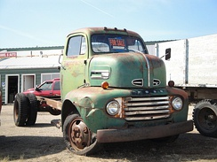 1948-1950 Ford F-6 cab over truck