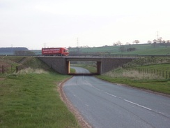 Passing under the M6 at Shap