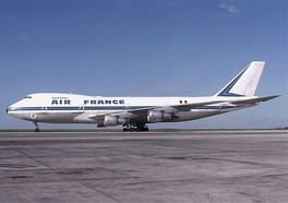 Air France operated 33 Boeing 747s by 1983. Here, a 747-100 is seen at CDG Airport in 1978.