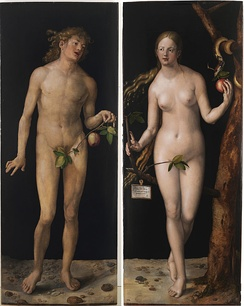 Adam and Eve, 1507, Museo del Prado, Madrid.