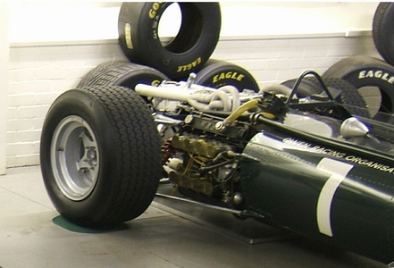 BRM H-16 engine in a 1966 BRM P83