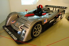 Cadillac Northstar LMP 900 at the Le Mans Museum.