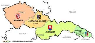 The First Czechoslovak Republic comprised only 27% of the population of the former Austria-Hungary, but nearly 80% of the industry.[53]