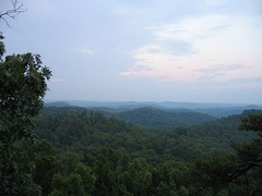 The Daniel Boone National Forest.