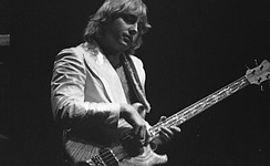 Lake performing at an Emerson, Lake & Palmer concert at Maple Leaf Gardens, Toronto, in 1978