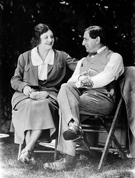 Lubitsch and his wife, Helene Kraus