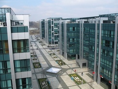 Business park Airport City Belgrade.