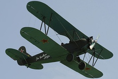 Polikarpov Po-2, of which over 20,000 were built by the Soviet Union
