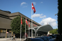 Forum in Copenhagen, Denmark hosted the inaugural edition of the contest in 2003.