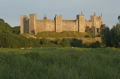 Framlingham Castle, the castle mentioned in the song.[9]