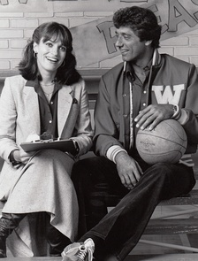 Gwynne Gilford and Namath on The Waverly Wonders in 1978