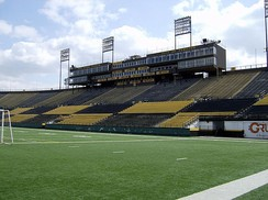 Ivor Wynne Stadium, former home of the Tiger-Cats.