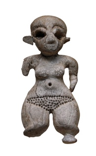 Ivory statuette of a woman with dwarfism, Gerzeh culture (Naqada II), Prehistoric Egypt