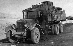 A ZIS-6 Lorry in 1938