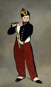 Young Flautist, or The Fifer, 1866, Musée d'Orsay