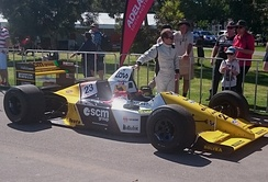 Martini and a Minardi M189 at the 2016 Adelaide Motorsport Festival