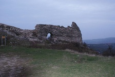 The ruins of the fortress of Novo Brdo