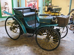 Peugeot Type 3 built in France in 1891
