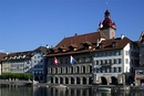 Lucerne's town hall has been home to the city's government for centuries