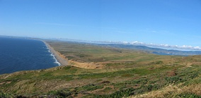 South Beach and Point Reyes Peninsula
