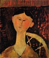 Amedeo Modigliani, Portrait of Mrs. Hastings, 1915.