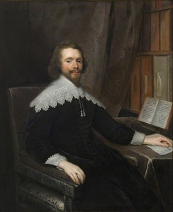 Portrait of a Physician in His Library by Cornelis Janssens van Ceulen, one of the significant portraits in the Royal College of Physicians' collection